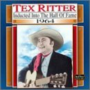 Tex Ritter Country Music Hall Of Fame Ser Country Music Hall Of Fame Ser