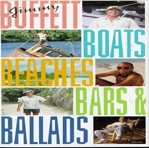 Jimmy Buffett Boats Beaches Bars & Ballads 4 CD Incl. Booklet