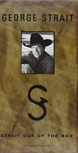 George Strait Strait Out Of The Box 4 CD