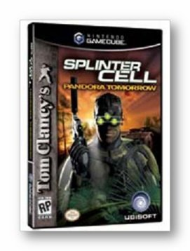 Cube Splinter Cell Pandora Tomorrow