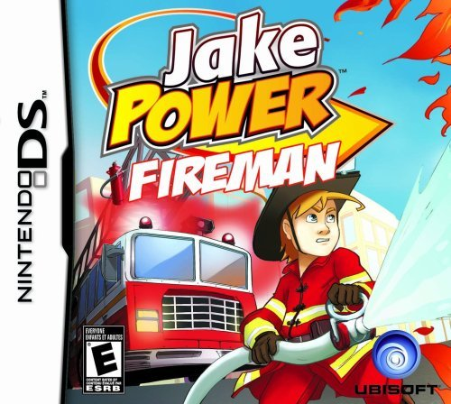 Nintendo Ds Jake Power Fireman Ubisoft