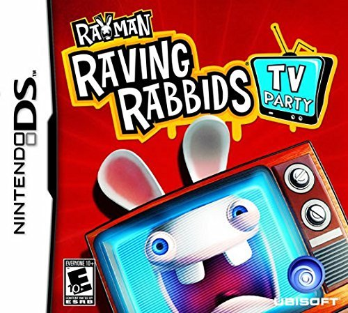 Nintendo Ds Rayman Raving Rabbids Tv Party