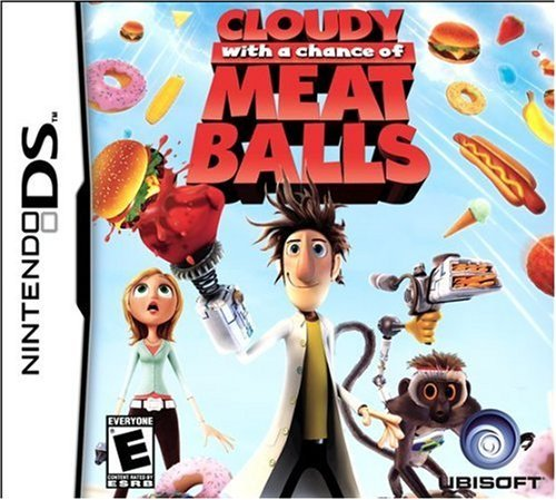Nintendo Ds Cloudy With A Chance Of Meatballs