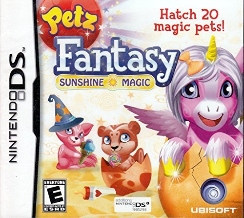 Nintendo Ds Petz Fantasy Sunshine Magic