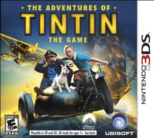 Nintendo 3ds Adventures Of Tintin The Game