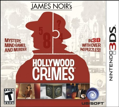 Nintendo 3ds James Noir's Hollywood Crimes