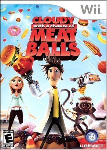 Wii Cloudy With A Chance Of Meatballs