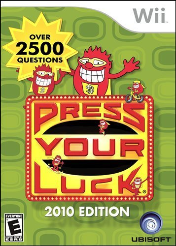 Wii Press Your Luck Ubisoft E