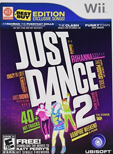 Wii Just Dance 2 Best Buy Edition W 3 Extra Songs