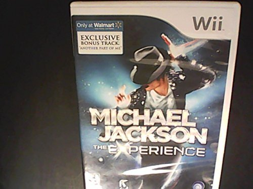 Wii Michael Jackson The Experience
