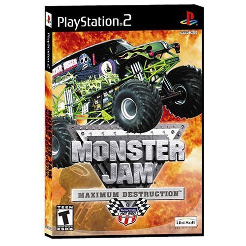Ps2 Monster Jam Maximum Overdrive Rp