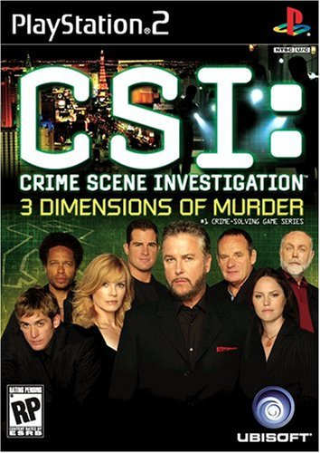 Ps2 Csi 3 Dimensions Of Murder