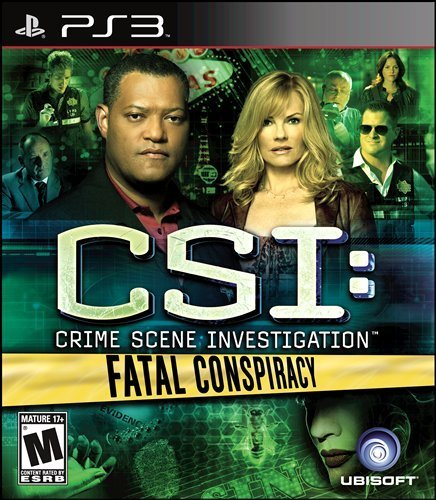 Ps3 Csi Fatal Conspiracy