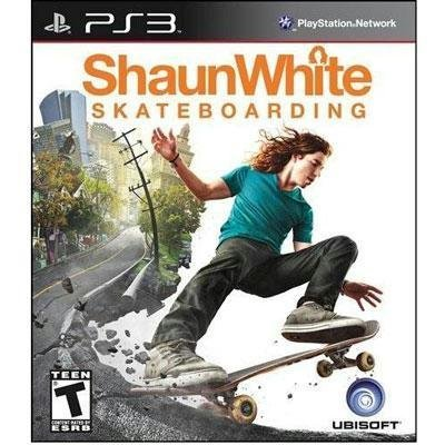Ps3 Shaun White Skateboarding