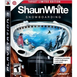 Ps3 Shaun White Snowboarding Target Edition