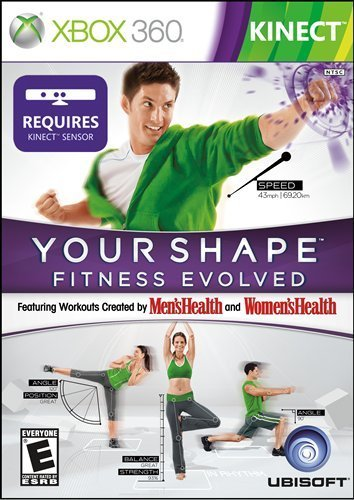 X360 Kinect Your Shape Fitness Evolved