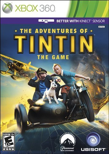 Xbox 360 Adventures Of Tintin The Game