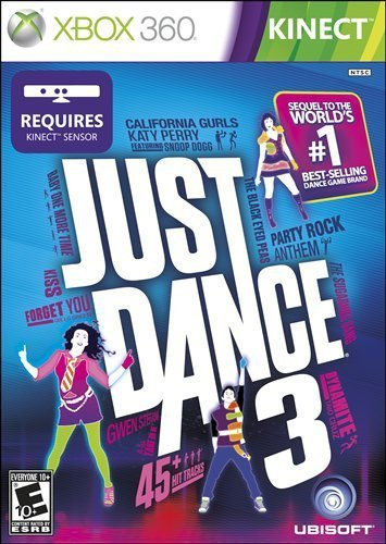 Xbox 360 Just Dance 3 Requires Kinect E10+