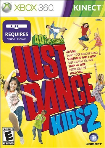 Xbox 360 Kinect Just Dance 2 Kids Ubisoft E