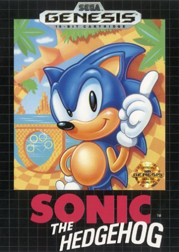Sega Genesis Sonic The Hedgehog