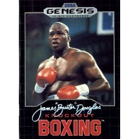 Sega Genesis James Buster Douglas Knockout Boxing