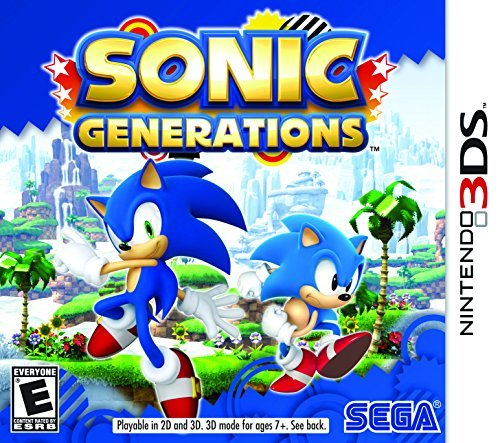 Nintendo 3ds Sonic Generations Sega Of America Inc. E