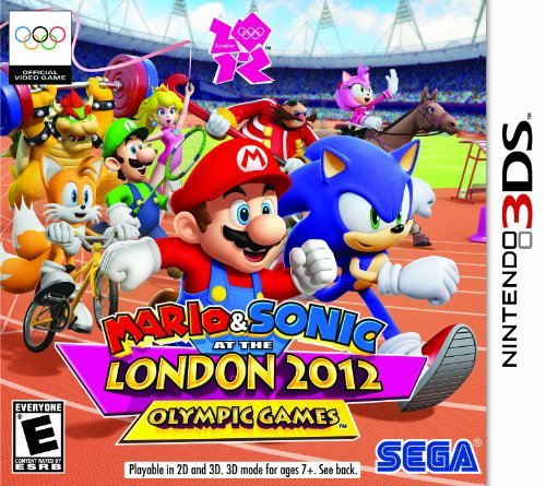 Nintendo 3ds Mario & Sonic At The London 20 Sega Of America Inc. E