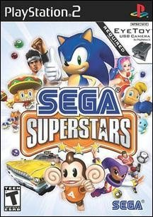 Ps2 Sega Superstars Eyetoy