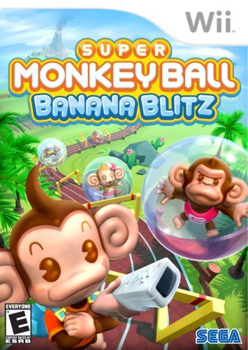 Wii Super Monkey Ball Banana Blitz Sega