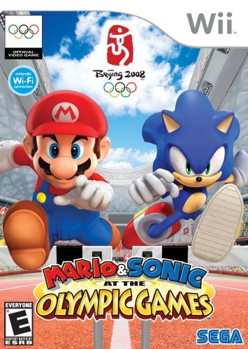 Wii Mario & Sonic Olympic Game