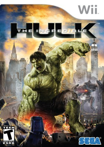 Wii Incredible Hulk