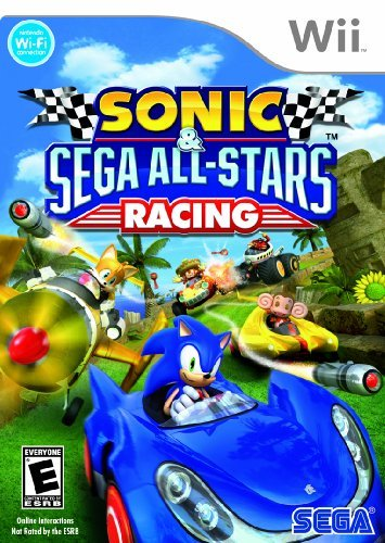 Wii Sonic & Sega All Star Racing Sega Of America Inc. E
