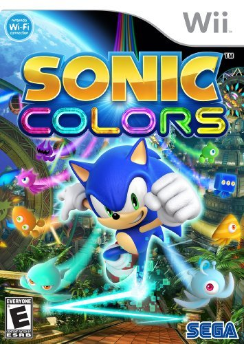 Wii Sonic Colors E