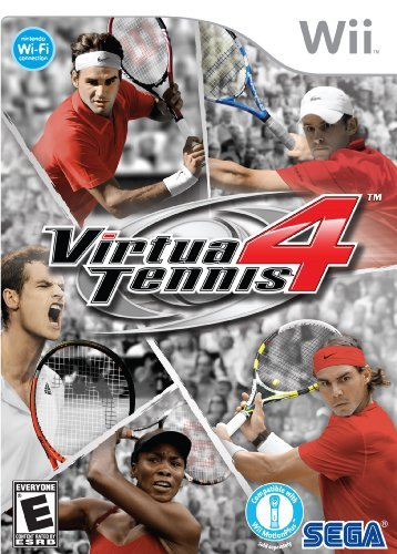 Wii Virtua Tennis 4 Sega Of America Inc. E