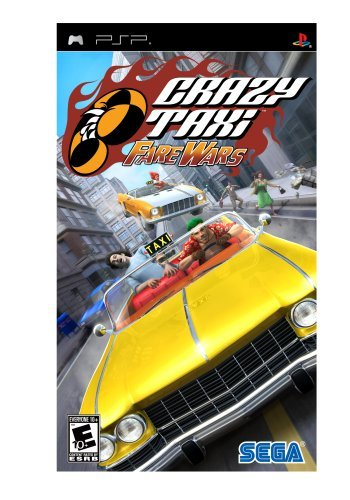 Psp Crazy Taxi Fare Wars