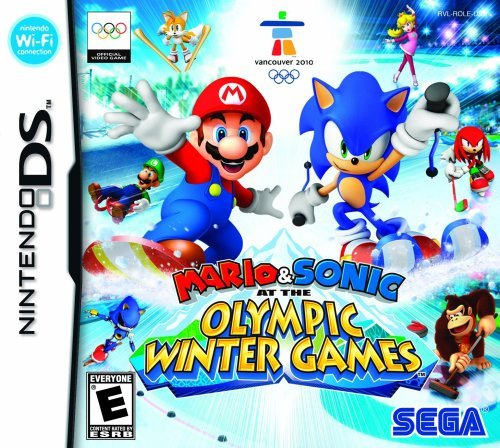 Nintendo Ds Mario & Sonic At The Winter Ol