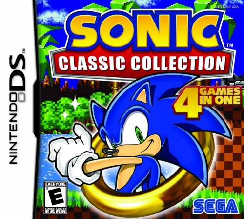 Nintendo Ds Sonic Classic Collection Sega Of America Inc. E