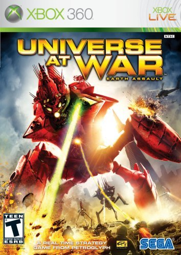 X360 Universe At War Earth Assault