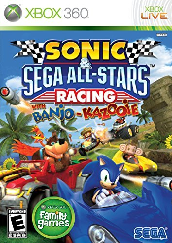 Xbox 360 Sonic & Sega All Star Racing Sega Of America Inc. E