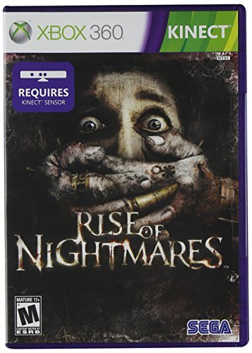 Xbox 360 Kinect Rise Of Nightmares Sega Of America Inc. M