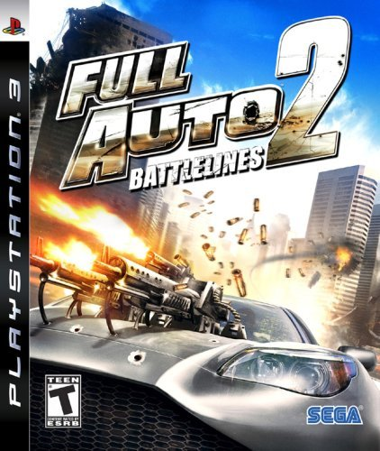 Ps3 Full Auto 2 Sega