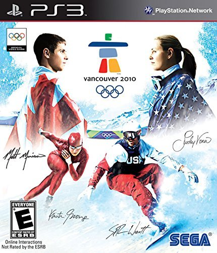 Ps3 Vancouver 2010 Official Video Game Of The Winter
