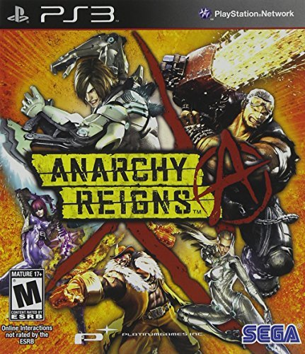 Ps3 Anarchy Reigns Sega Of America Inc. M