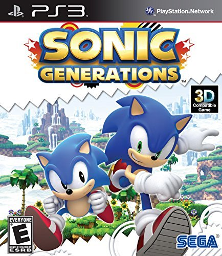 Ps3 Sonic Generations Sega Of America Inc. E