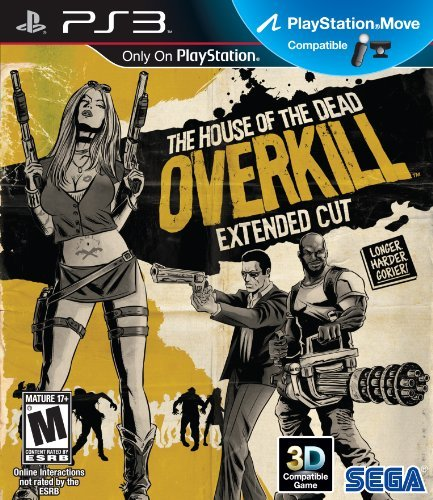 Ps3 House Of The Dead Overkill Extended Cut Move Compatible