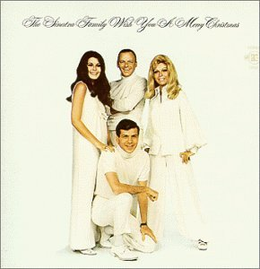Sinatra Family Wish You A Merry Christmas 24k Gold Disc