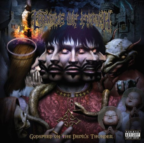 Cradle Of Filth Godspeed On The Devil's Thunde Explicit Version 2 Lp Set