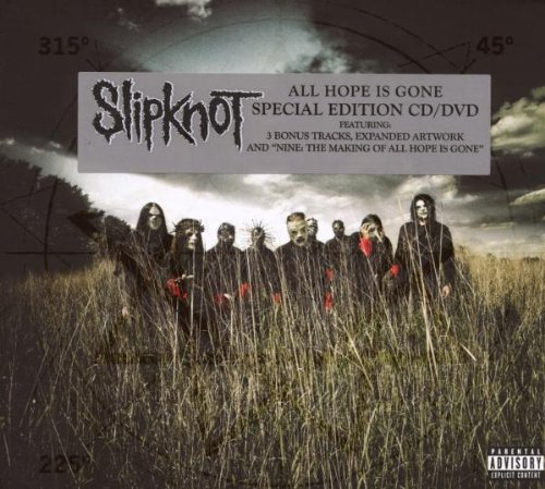 Slipknot All Hope Is Gone Deluxe Explicit Version Lmtd Ed. Incl. Bonus DVD