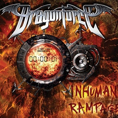 Dragonforce Inhuman Rampage Special Ed. Incl. DVD