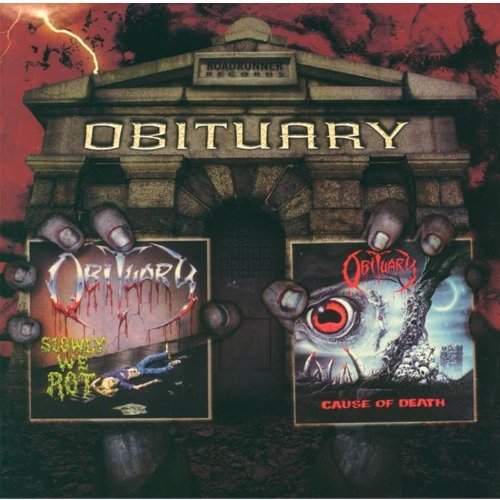 Obituary Slowly We Rot Cause Of Death 2 CD Set